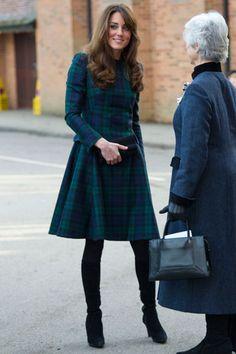 Kate Middleton in Alexander McQueen - Mr. Blasberg's Best-Dressed List: December 7th, 2012