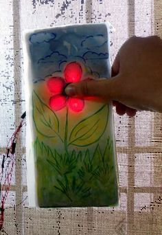 How to make a touch activated light display