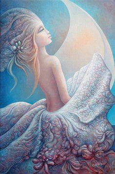 Michel Ogier #visionaryart #art #beautiful #visual #trippy #psychedelic #sacred