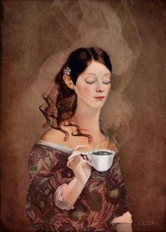 Coffee Break by Catrin Welz-Stein