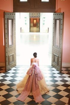 Bridal Gown with Bow