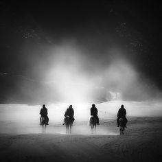 Tengger Horsemen  by Hengki Koentjoro, via 500px