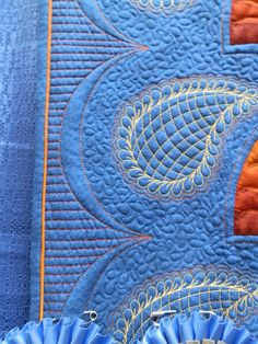 quilting with contrasting thread