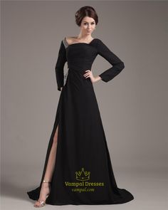 long formal dresses with sleeves - Google Search