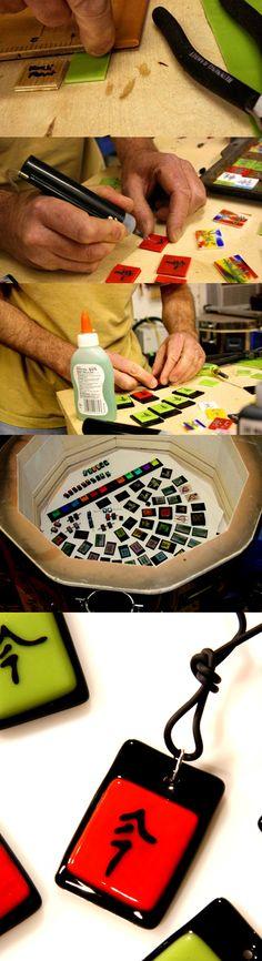 Firing Painted Glass No. 298