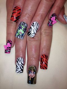 Monster High Nails