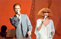 David Bowie and Cher.. The hair!