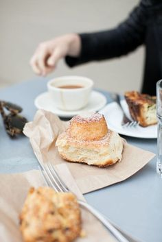 coffee + buns