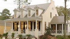 Front porch and Screened in porch.