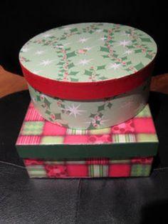 mod podg, gift boxes, craft, christma box, podg christma