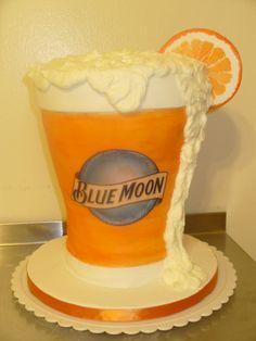 Blue Moon cake