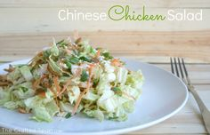 The Crafted Sparrow: Chinese Chicken Salad