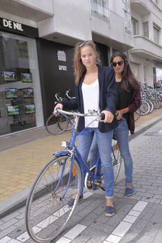 The young scene at Belgium's seaside town of Knokke-Het-Zoute.