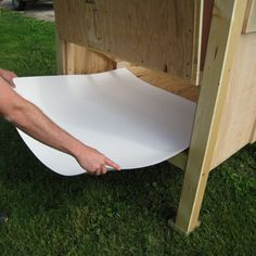 Easy Clean Chicken Coops - Liners