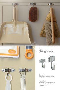 The Best Hooks For Organizing