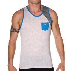 tank top, christians, christian apparel, andrew chirstian, andrew christian, gradient tank, top grey, christian gradient, crazi andrew
