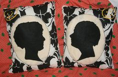 Sherlock Holmes/ Benedict Cumberbatch and John Watson/ Martin Freeman handmade pillow. But I need them...