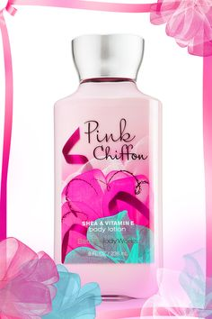 Pair 16 hours of softer skin and light-as-air fragrance thanks to 2x the moisture & 3x the shea! #PinkChiffon