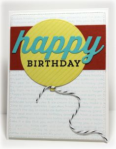 Diagonal Stripes Background, Happy Everything, Happy Birthday Background, Balloon STAX Die-namics, Happy Die-namics - Jody Morrow #mftstamps