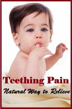 Home Remedies for Teething Pain