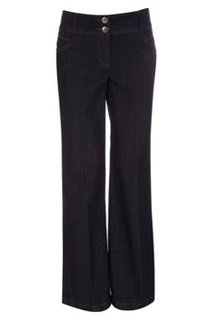 Indigo Wide Leg Jeans - a comfy pair of quality jeans is must for anywhere!
