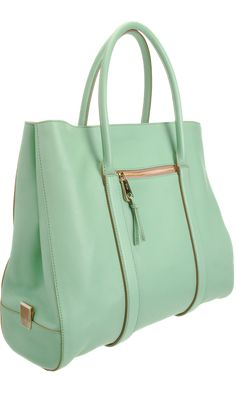 Chloé Madeleine Tote in mint