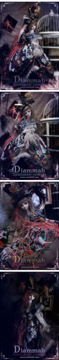 Diammah bjd from Soul Doll