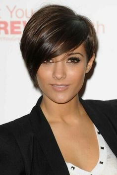 Asymmetry Short Hairstyles