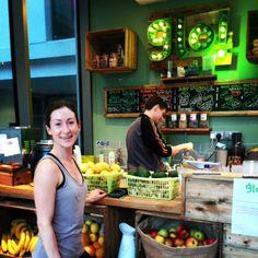 glo juice bar at yogahaven juic bar