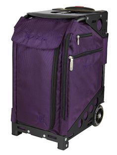 Zuca Pro Travel Full Set: Royal Purple Insert Bag on Black Frame, 5 Standard Pouches + TSA Tolietry Bag with Purple Travel Cover:Amazon:Sports & Outdoors