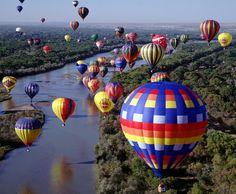 Albuquerque International Balloon Fiesta, New Mexico (October)