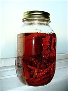 Infuse your booze! A great tutorial for using fruit to make flavored alcohol. I can't get enough of the Hungry Mouse!