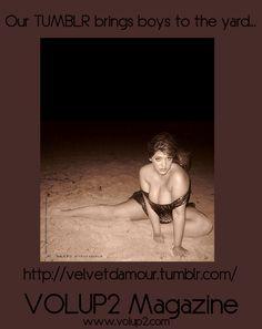 Model Denise Bidot   Photographer Velvet d'Amour   Top TORRID   www.volup2.com   http://velvetdamour.tumblr.com/