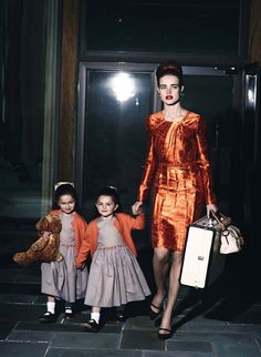 This is what I look like with my kiddos in tow, right?