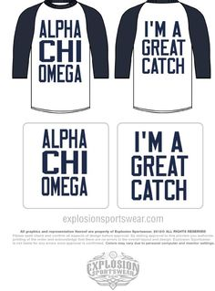 Use with Gamma Sigs for fall rush!