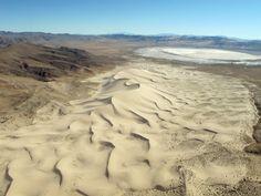 Sand Mountain Nevada. Aerial Photograph_#GeorgeTupak