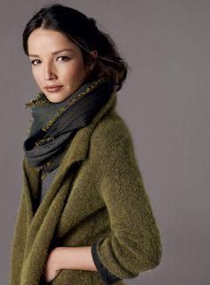 nice cardi and I LOVE the scarf