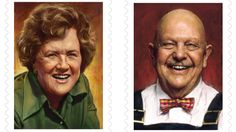 New stamps honor Julia Child and other celebrity chefs
