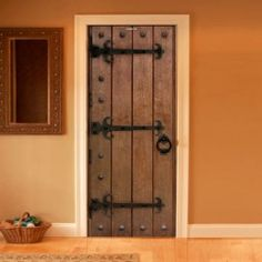 Style your door trompe-l'oeil Medieval door by Couture Deco