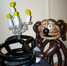 Black Cat Balloon Company's Muppet Project: Rowlf