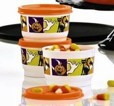 HI-HO HI-HO WITH TUPPERWARE WE GO: Save Over 60% While Supplies Last on Halloween Snack Cups at www.my.tupperware.com/lindacwilson