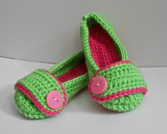 Pretty Princess Toddler Slippers  - Crocheted - Made to Order - Toddler Sizes. $14.95, via Etsy.