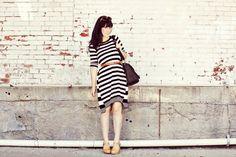 strip dress, perfect stripe