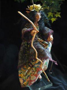 Wild Wood Lady Fairy
