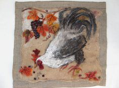 Rich Pickings Felted rooster picture by TheGuavaTreeStudios (inspiration for soap)