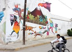 NeoMexicanismos - Arte urbano en Cholula, Puebla