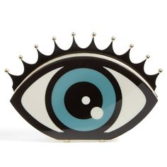 Eye Shaped Clutch by Charlotte Olympia Its a purse?! http://fancy.to/b54ig3