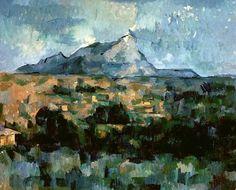 Paul Cézanne, 1906, Montagne Saint-Victoire