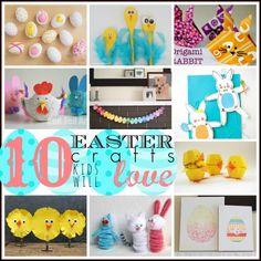 10 Easter crafts kid