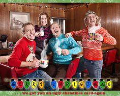 Ugly Christmas card!